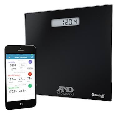 A&D Medical Deluxe Connected Scale