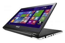 ASUS Flip Convertible with 15.6-Inch HD Multi-Touch Laptop