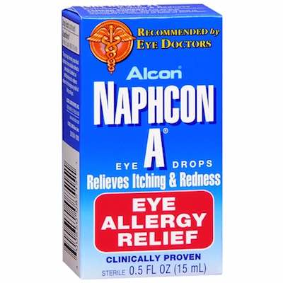Alcon Naphcon-A Allergy Relief Eye Drops - Redness Relief Eye Drops