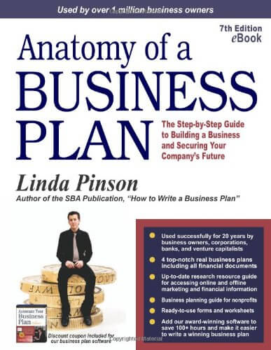 Anatomy of a Business Plan book