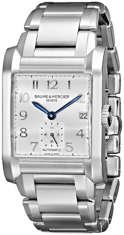 Baume & Mercier Hampton BMMOA10047 - Analog Display Swiss Automatic Silver Watch