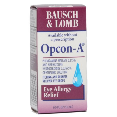 Bausch & Lomb Opcon-A - Redness Relief Eye Drops