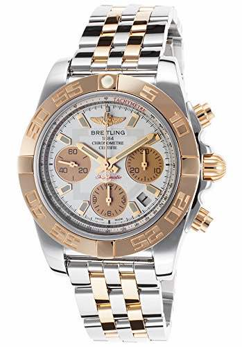 Breitling Men's Chronomat 41 Chronograph Two-Tone Stainless Steel Watch