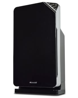 Brondell O2+ Balance Air Purifier with True HEPA and Carbon Filtration