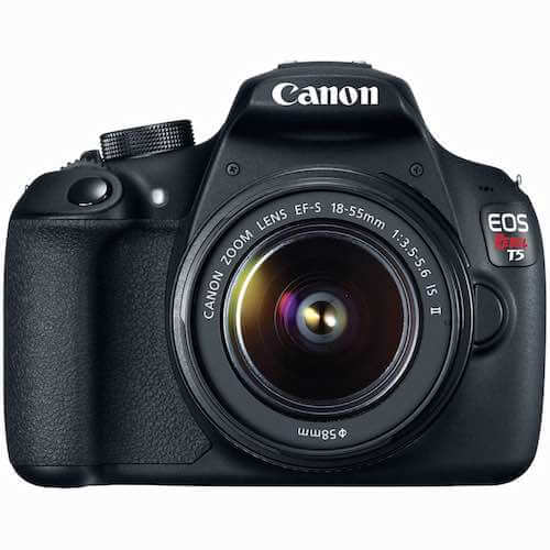 Canon EOS Rebel T5 EF-S 18-55mm - IS II Digital SLR Kit