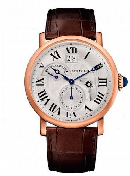 Cartier W1556240 Rotonde Retrograde 18K