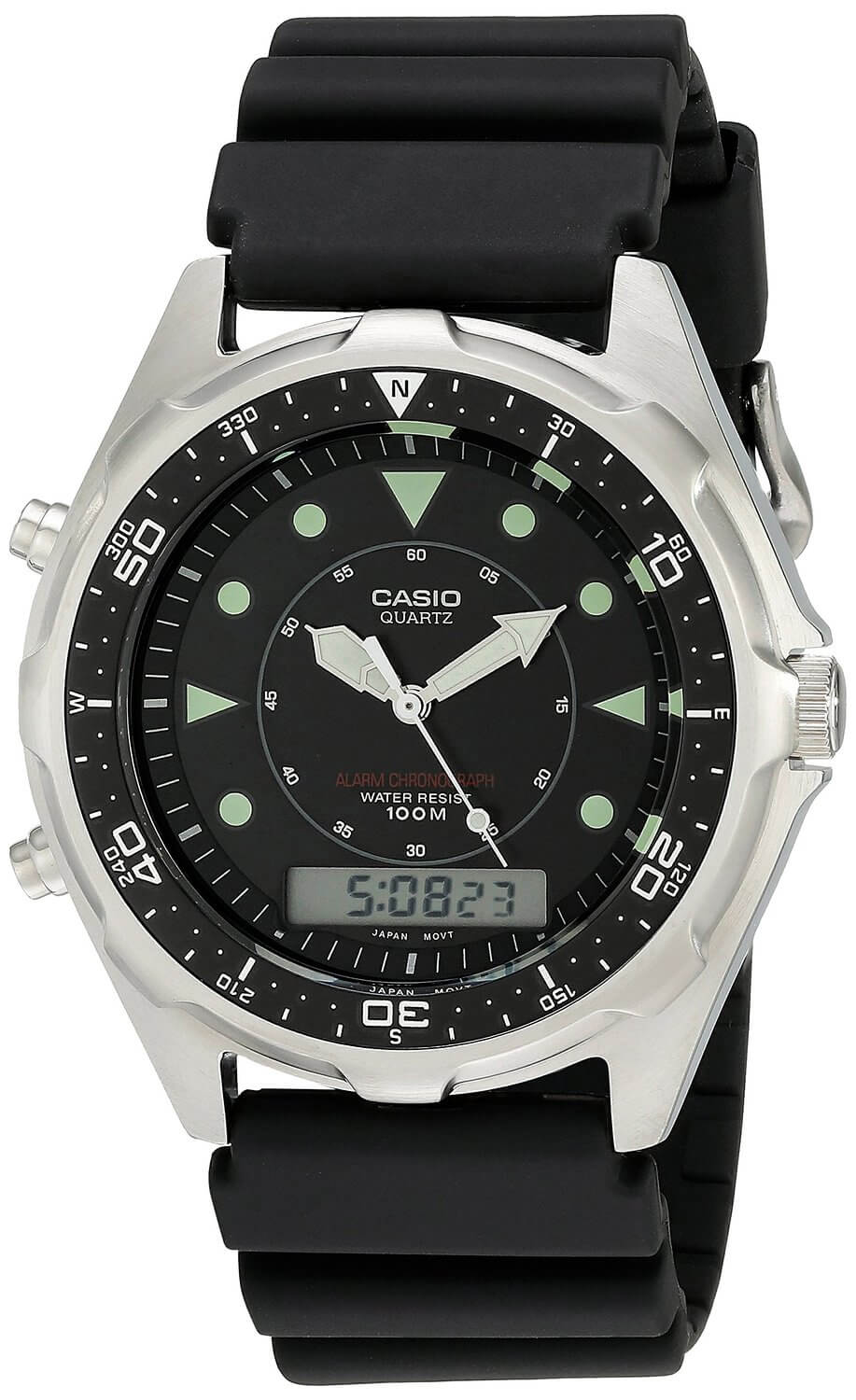 Casio AMW320R-1EV underwater watch