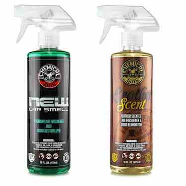 Chemical Guys New Car Scent and Leather Scent Combo Pack