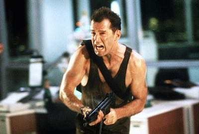 Die Hard McClane with gun