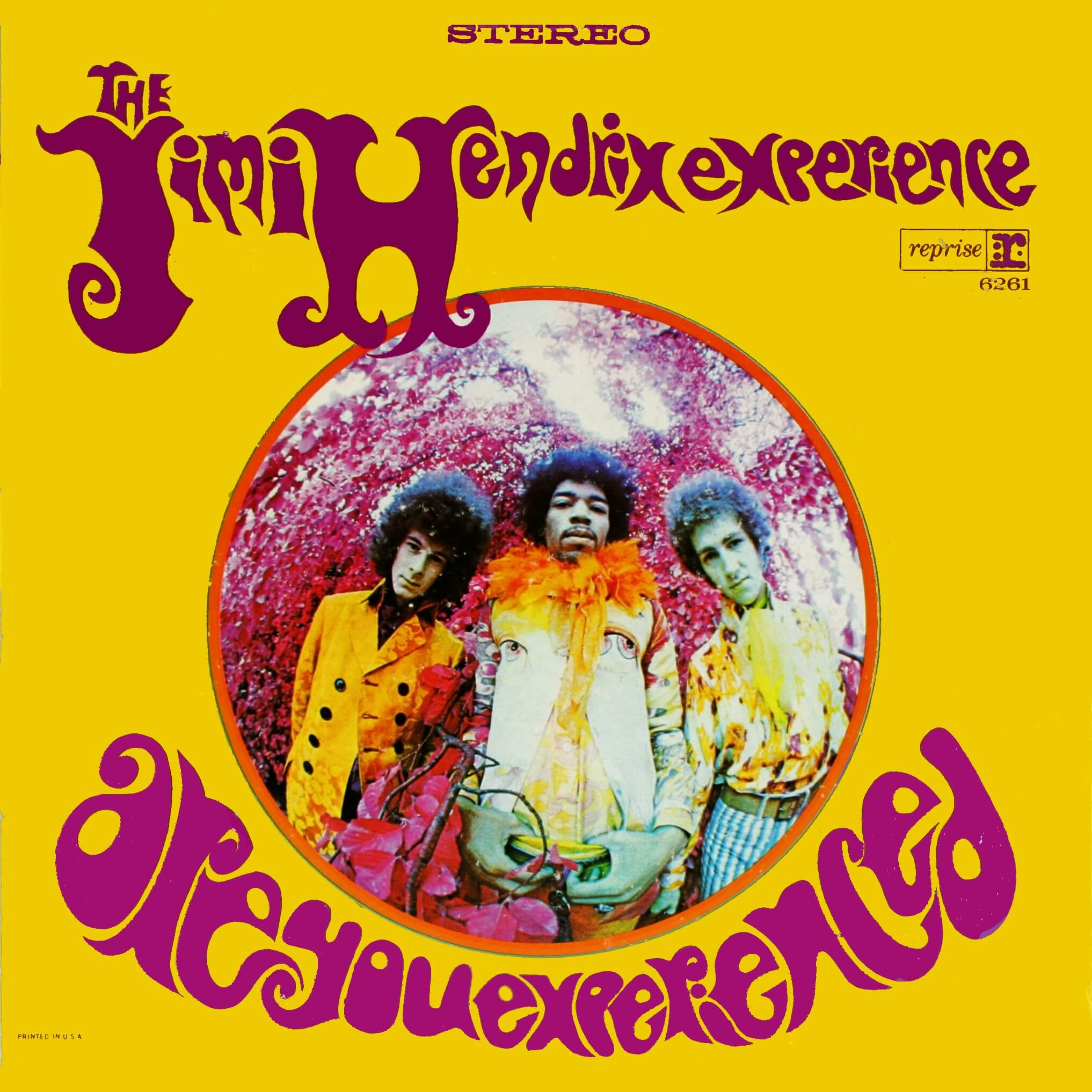 Jimi Hendrix Experience - Are You Experienced album