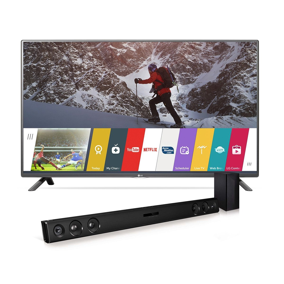 LG Electronics  43-Inch Smart LED TV with  Soundbar