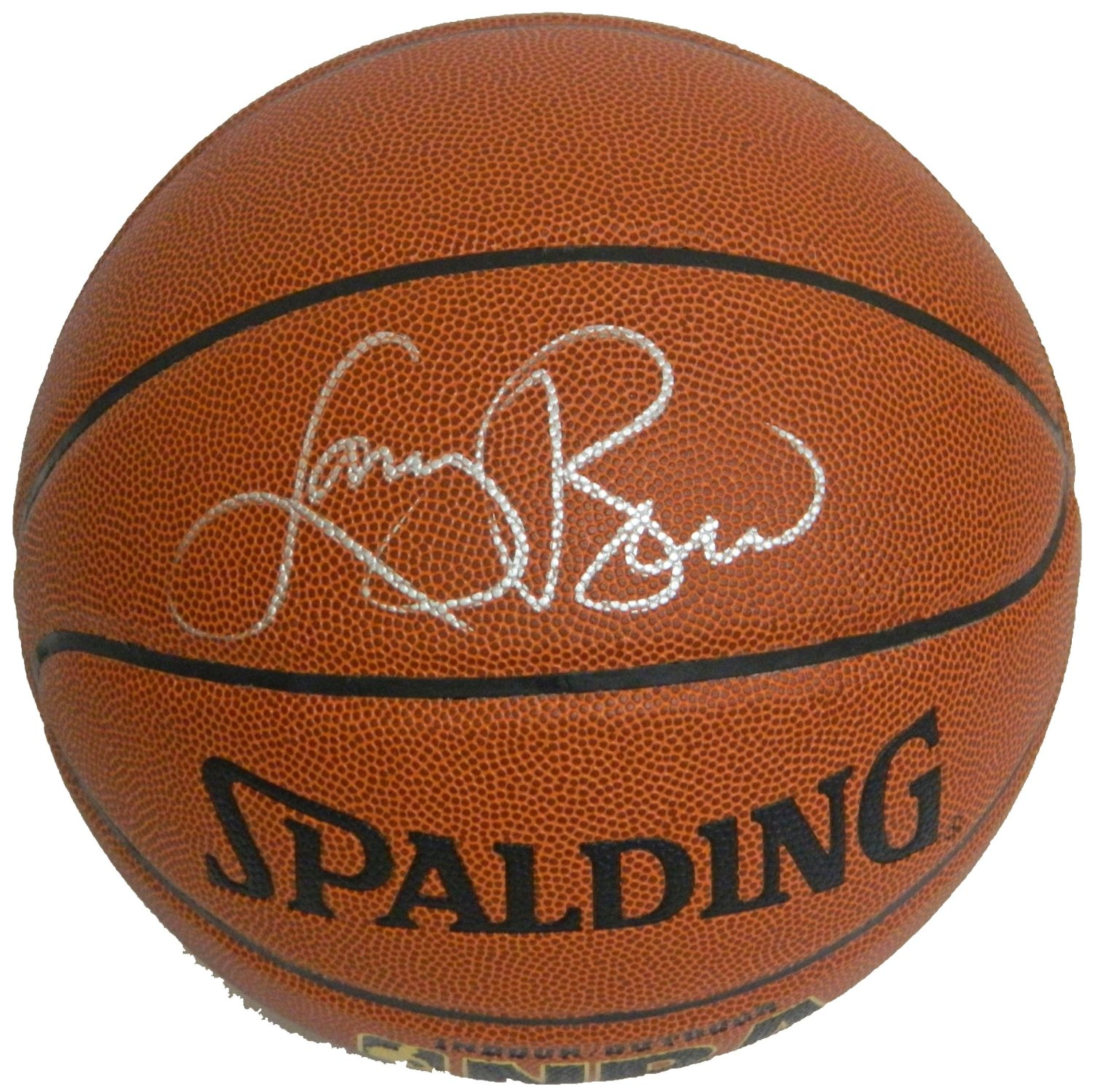 Larry Bird Autographed Spalding Ball