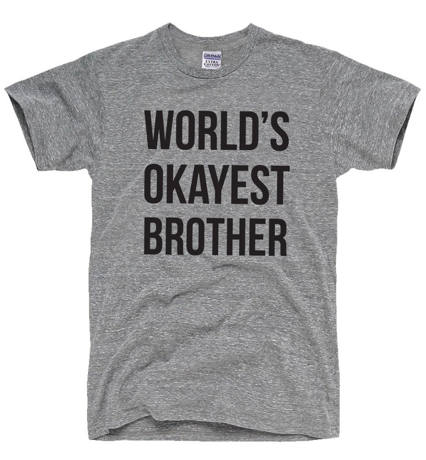 World's Okayest Brother Men's T-Shirt