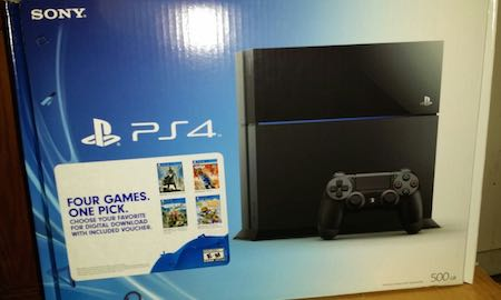 Playstation Console Bundle with Downloadable Game of Choice Voucher