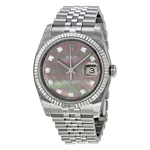 Rolex Datejust Automatic 116234BKMDJ Mother of Pearl Dial Stainless Steel Watch