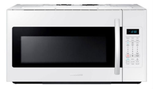 Samsung ME18H704SFW 1.8 Cu. Ft. 1000W Over-the-Range Microwave