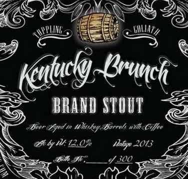 Toppling Goliath - Kentucky Brunch Brand Stout