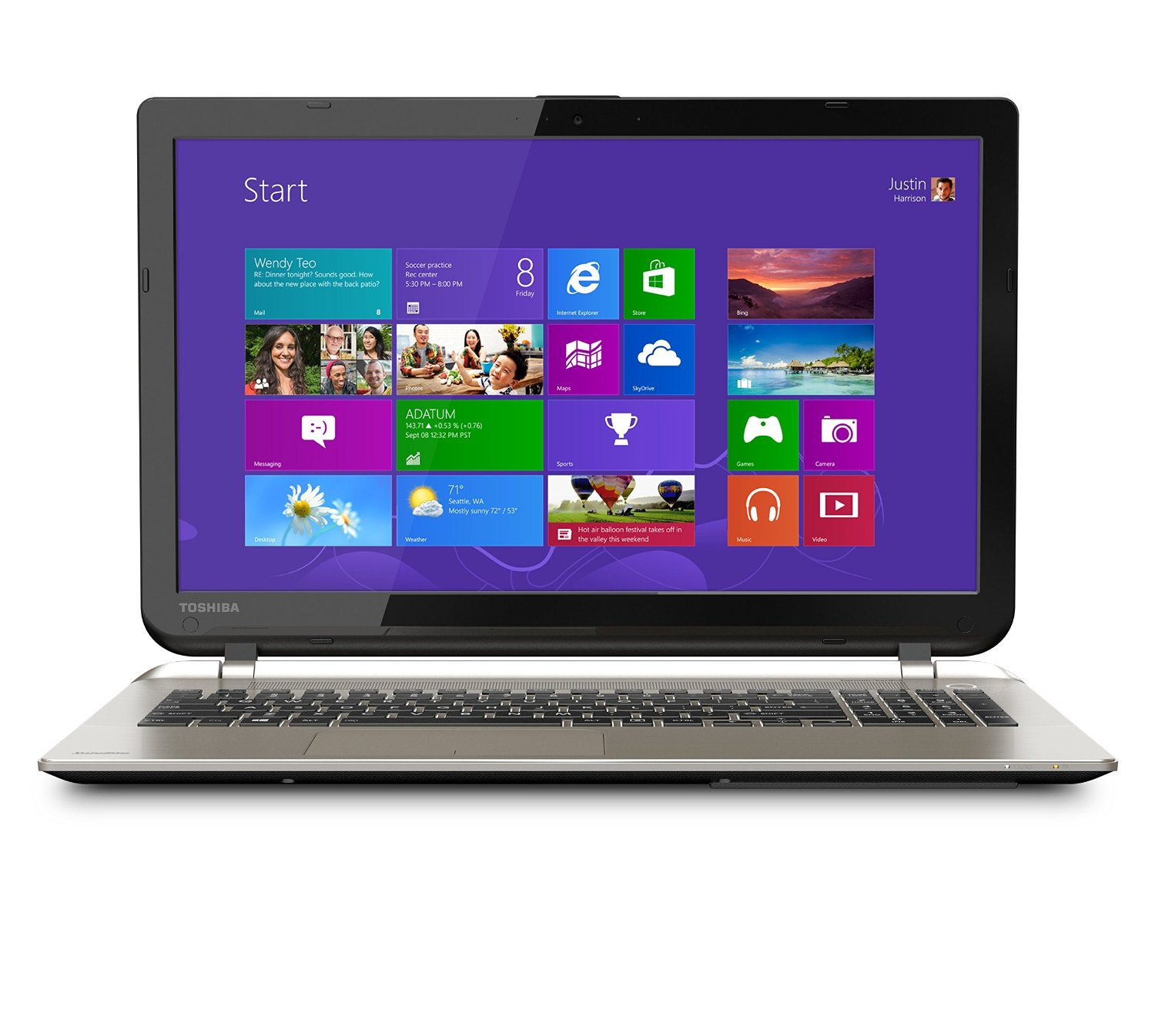 Toshiba Satellite S55-B5258 laptop