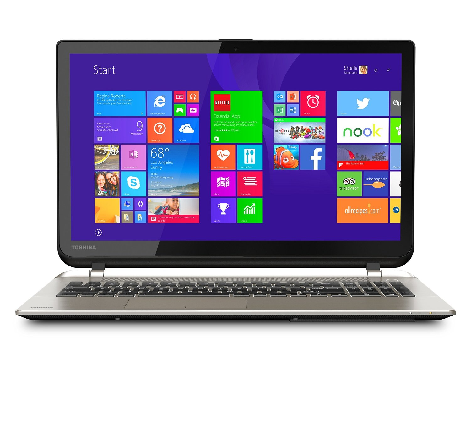 Toshiba Satellite S55T-B5150 Touchscreen Laptop