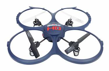 UDI 818A-1 2.4 Ghz Quadcopter Drone with HD Camera 2015 Version Bundle