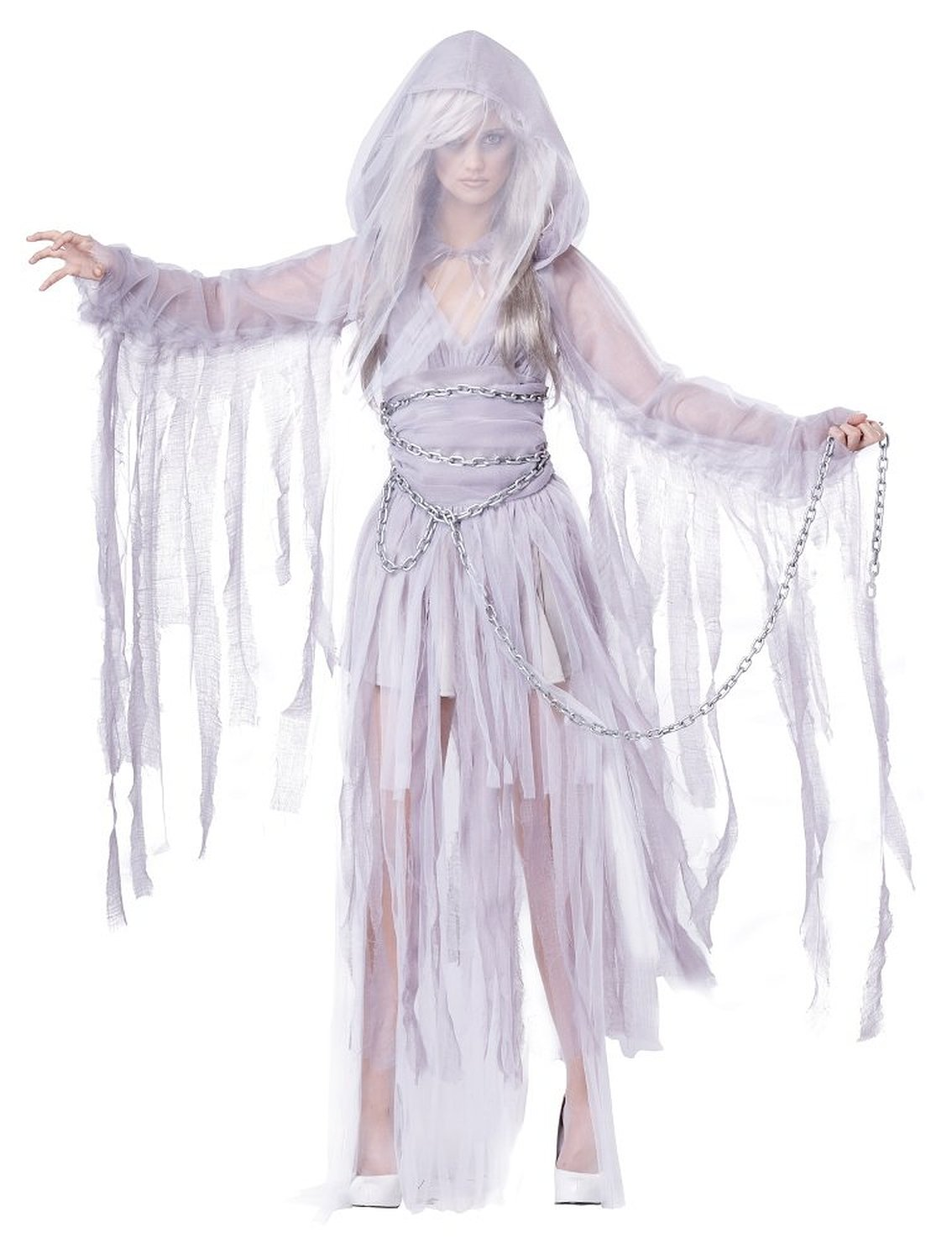 Women's Haunting Ghost Spirit Costume