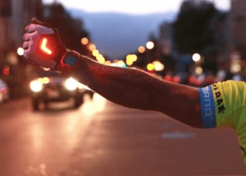 LED Turn Signal Gloves