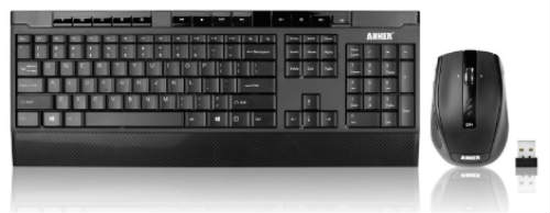 Anker CB310 Full-Size Ergonomic Wireless Keyboard and Mouse Combo