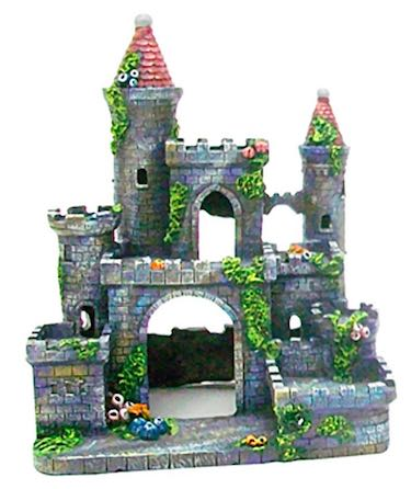 Medieval Castle Aquarium Ornament
