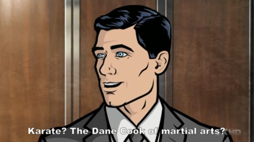 Archer hates Dane Cook