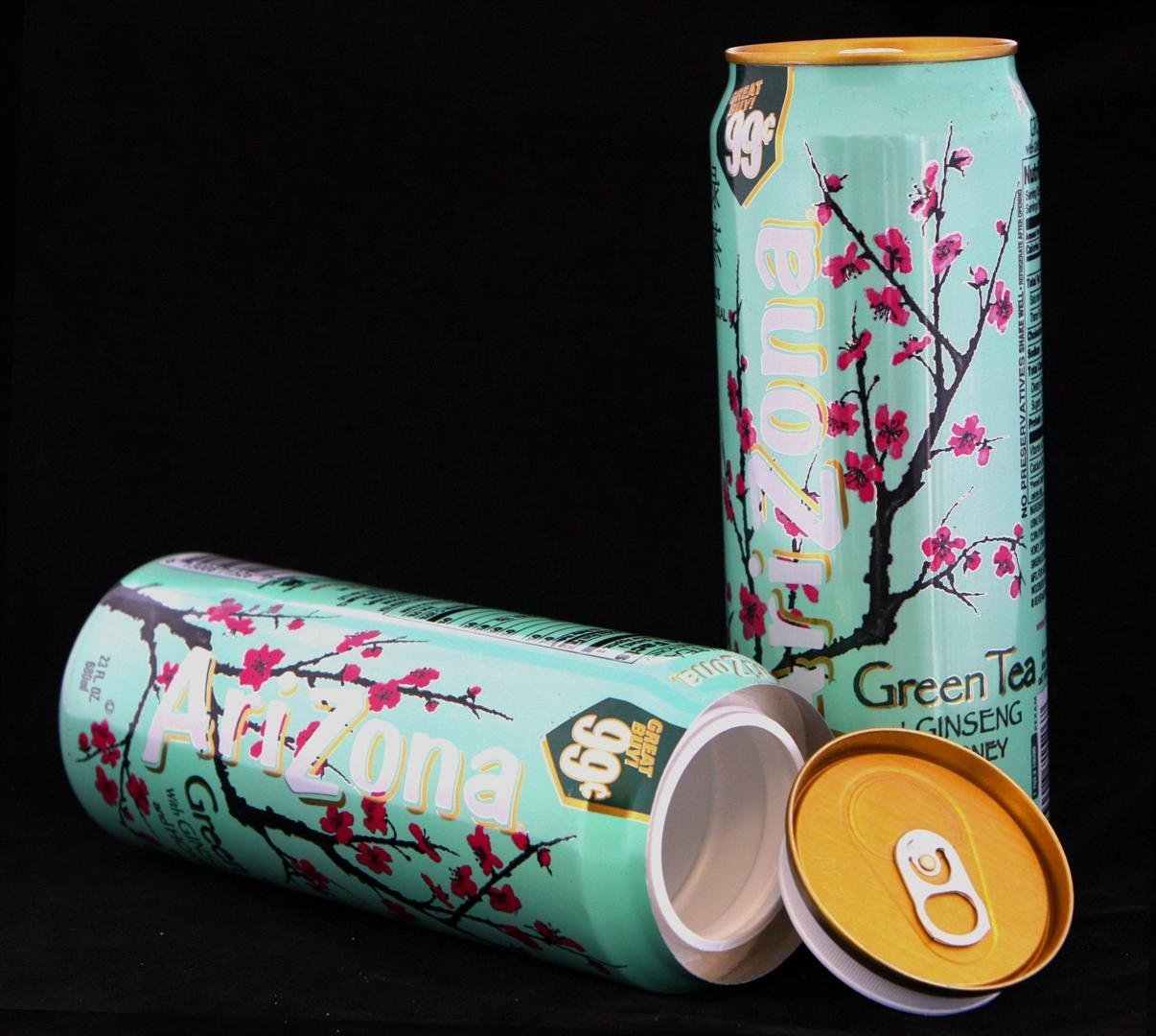Arizona Green Tea Diversion Safe Can