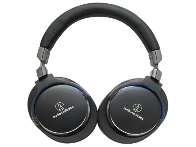 Audio-Technica ATH-MSR7BK SonicPro Over-Ear High-Resolution Headphones