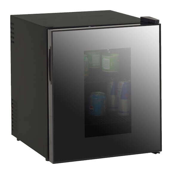 Avanti 1.7-Cubic Foot Beverage Cooler with Mirrored Finish Glass Door