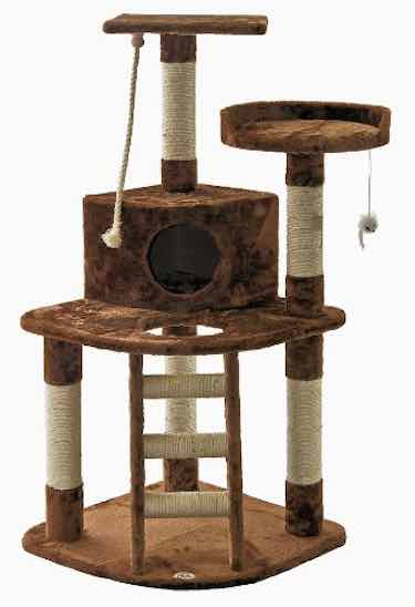 Brown Cat Tree