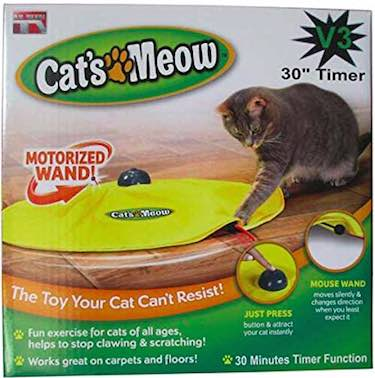 Cat's Meow Undercover Mouse Interactive Toy