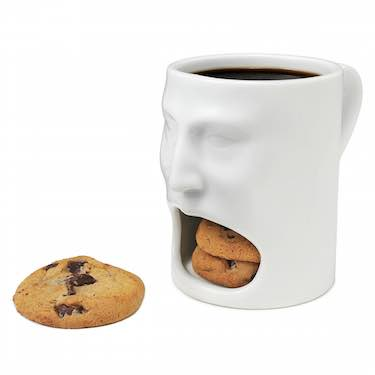 Ceramic Face Mug - funny coffee mugs