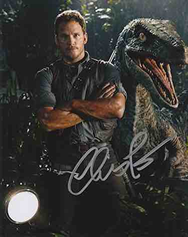 Chris Pratt Autograph