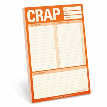 Crap to Do Notepad
