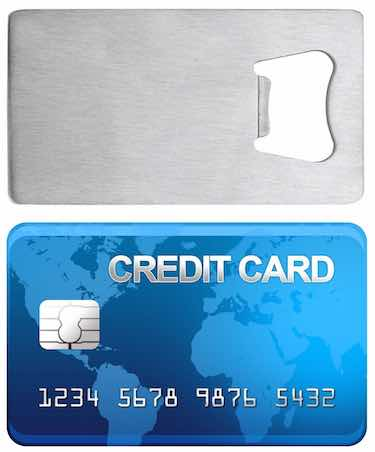 Credit Card Bottle Opener for Your Wallet