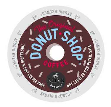 The Original Donut Shop Regular, Keurig K-Cups, 72 Count
