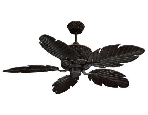 Ellington Aged Bronze Brushed Pineapple Ceiling Fan