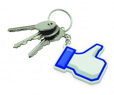 Facebook 'Like' Keychain