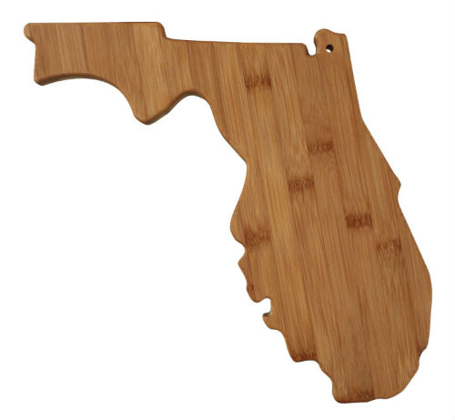 Florida Wooden Cutting Board