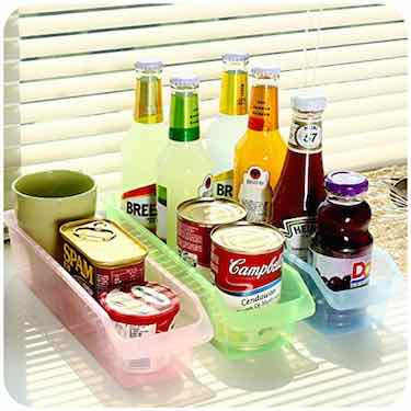 Multi-Color Fridge Organizers