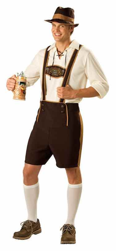 Men's Bavarian/German Guy Costume