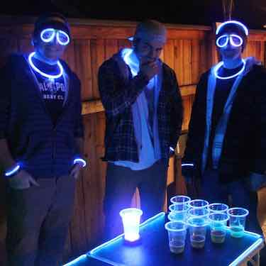 GLOWPONG Starter Pack - beer pong accessories