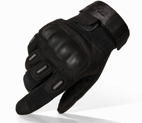 Hard-Knuckle Motorcycle Gloves