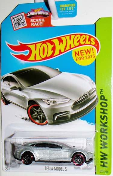 Tesla Model S Die-Cast Vehicle