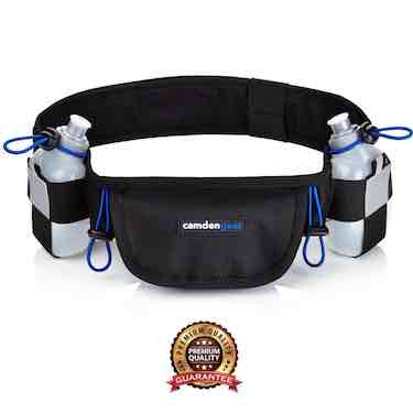 Hydration Running Belt With 2 BPA Free Water Bottles