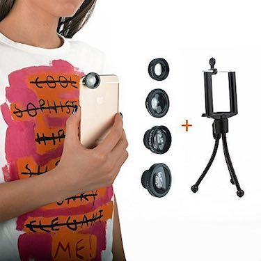 iPhone Lens 4 in 1 Magnetic Kit