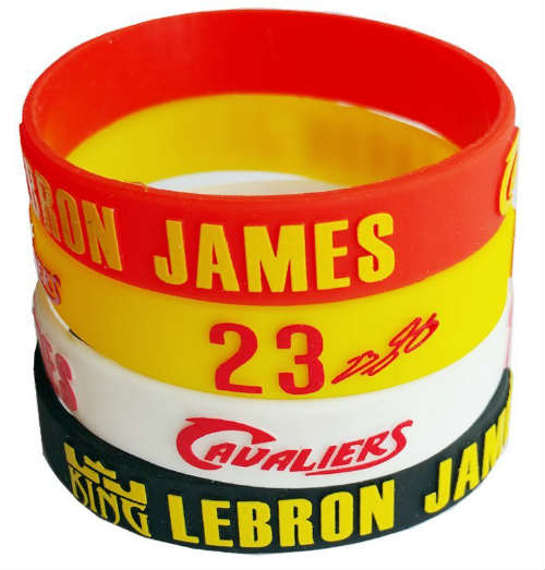 LeBron James Cavaliers wristbands